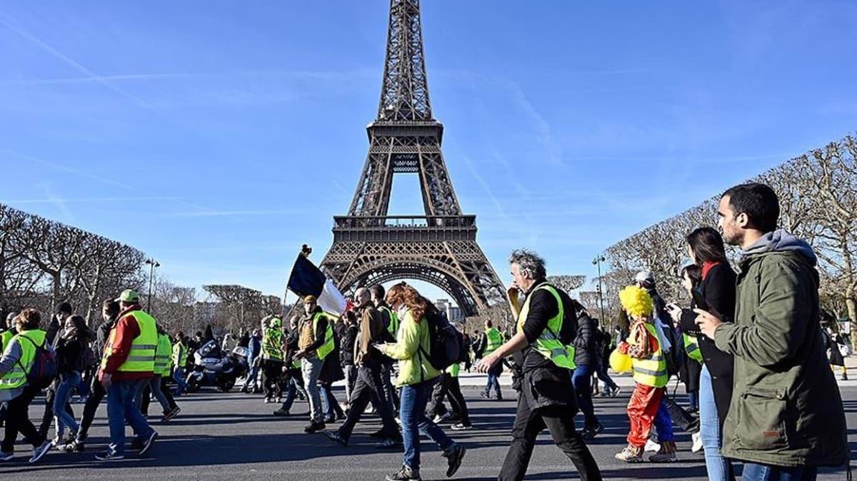 Fransa'da 'sarı yelekliler' 68 haftadır sokaklarda