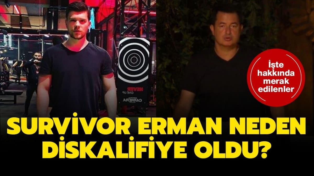 """Survivor Erman diskalifiye mi oldu, elendi mi"""" Survivor Erman Altıkardeş kimdir, kaç yaşında"""" İşte merak edilenler!"""