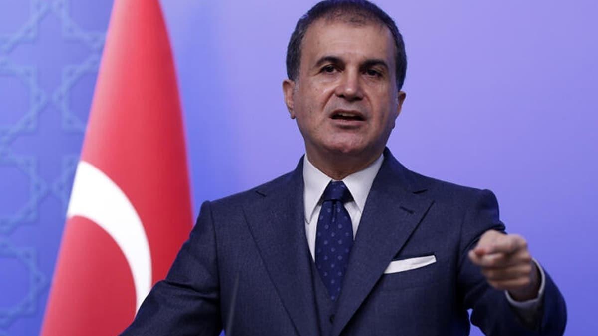 Ömer Çelik'ten güvenli bölge yorumu: Dünyanın yapamadığını Türkiye yaptı