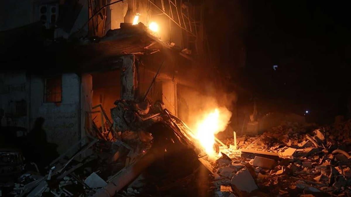 Son dakika haberi: Rus savaş uçakları İdlib'i vurdu: 9 sivil hayatını kaybetti
