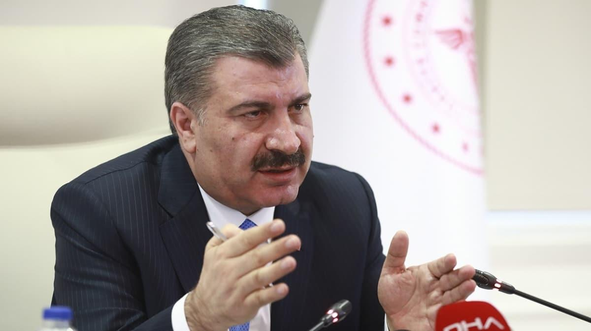 Sağlık Bakanı Fahrettin Koca İranlı heyeti koronavirüs tehlikesi nedeniyle kabul etmedi