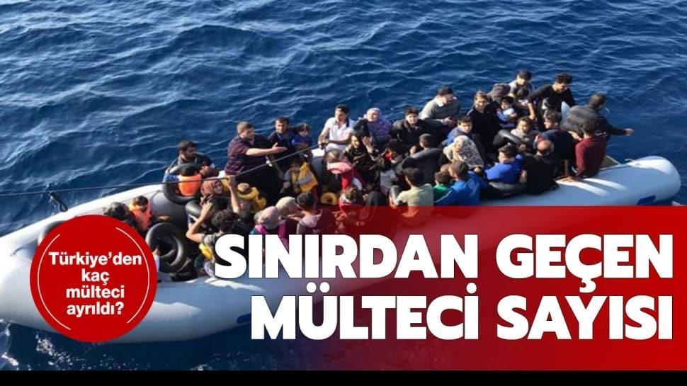 """Türkiye'den ayrılan mülteci sayısı kaç oldu"""""""