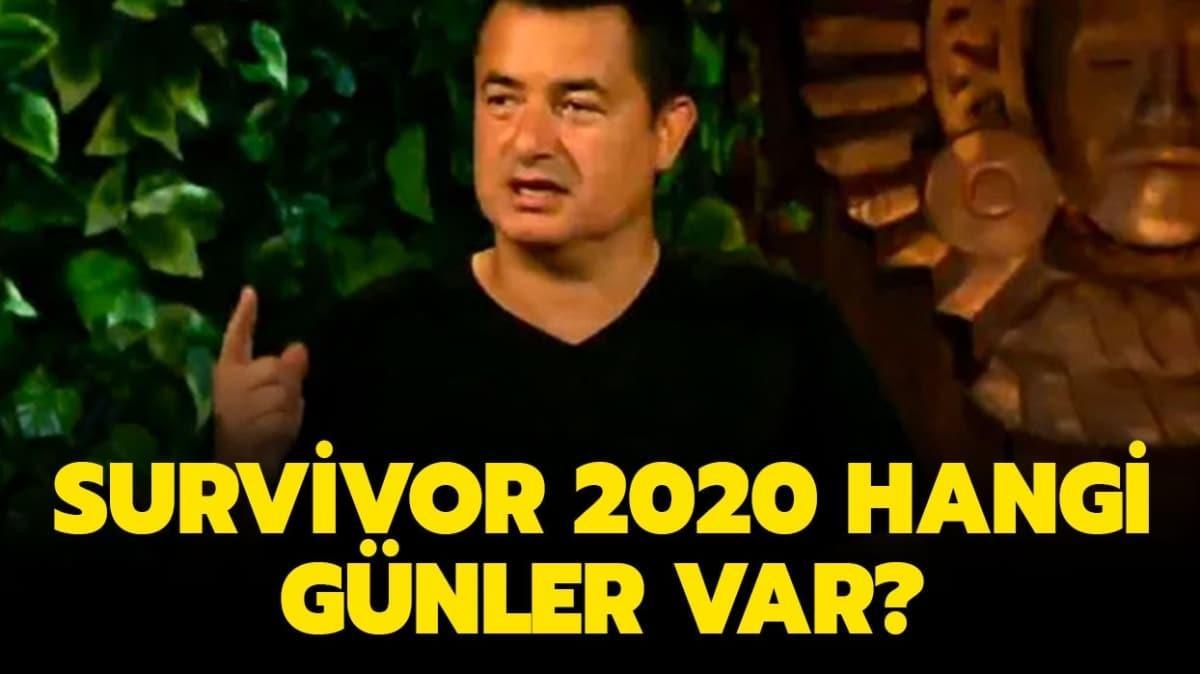 """Survivor 2020 hangi günler var"""" haberimizde!"""