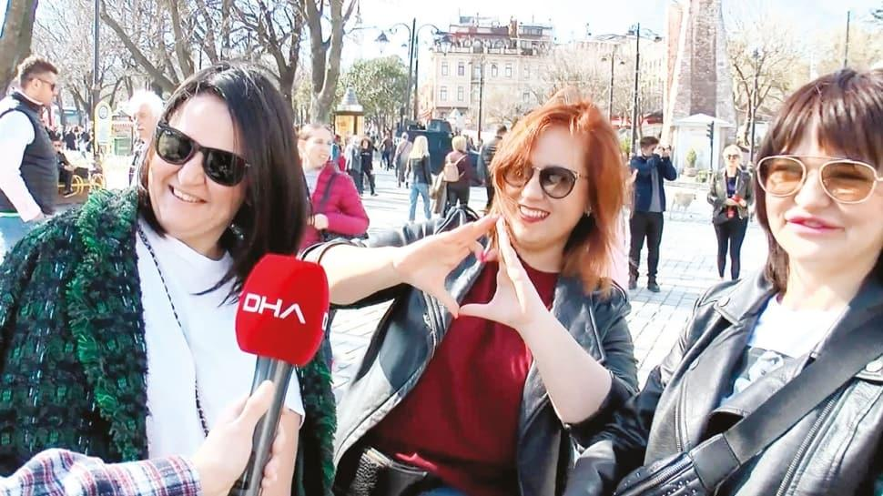 Turistler: Türkiye virüsle savaşmayı iyi biliyor