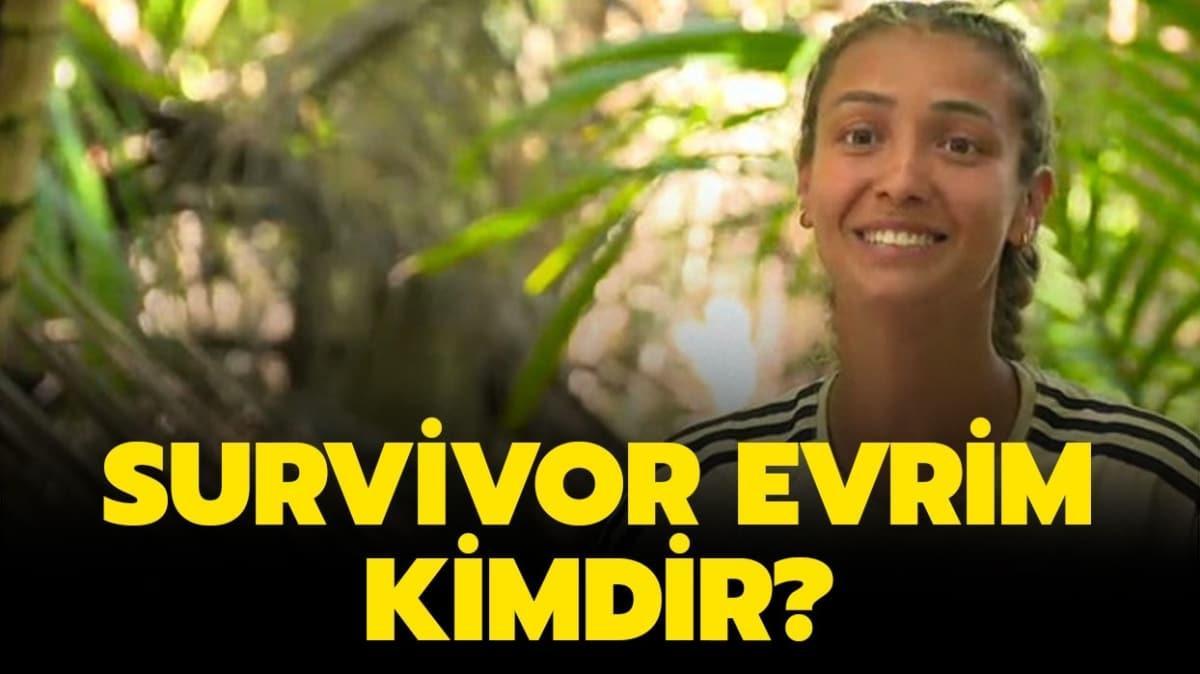 """Survivor 2020 Evrim Keklik nereli"""" Survivor Evrim kimdir, kaç yaşında"""" İşte hakkında merak edilenler!"""