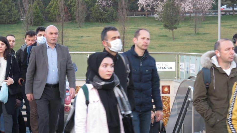 Görüntüler az önce geldi... İstanbullular yine tedbiri elden bırakmadı