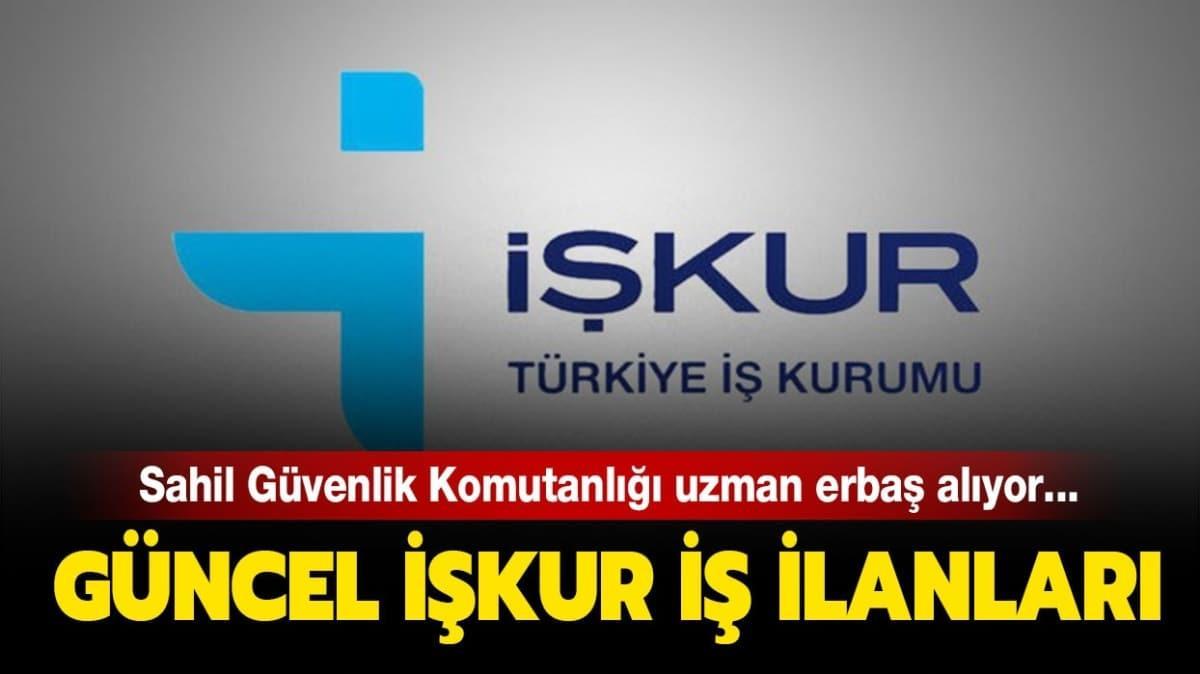 İŞKUR personel ve kamu memuru alım ilanları