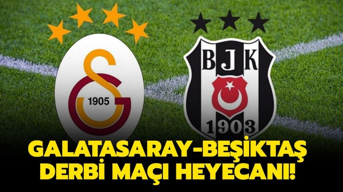 """GS BJK derbi maçı şifresiz mi"""" Galatasaray Beşiktaş derbi maçı canlı yayın hangi kanalda, ne zaman"""" İşte yanıtı!"""