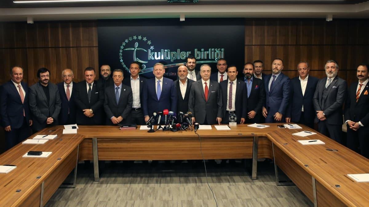 Kulüpler Birliği'nden Fenerbahçe Beko'ya 'geçmiş olsun' mesajı