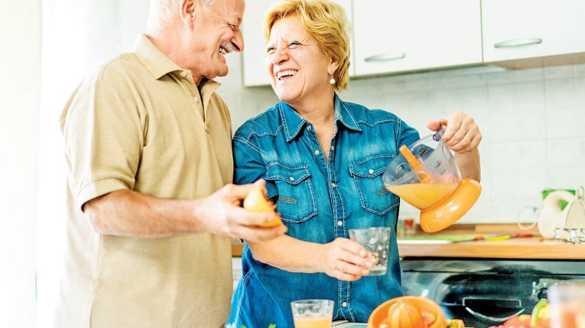 Yaşlılıkta doğru beslenme bağışıklığı güçlendirir