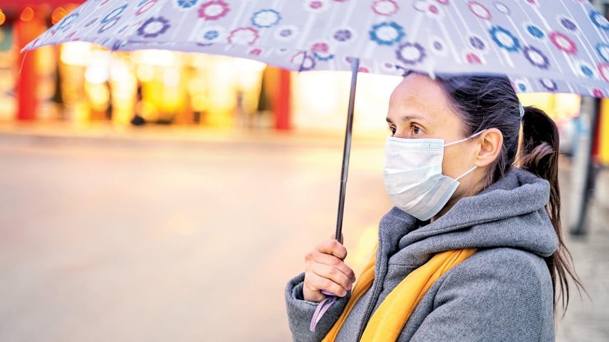 Yağmurlu havada virüs tehlikesi artar