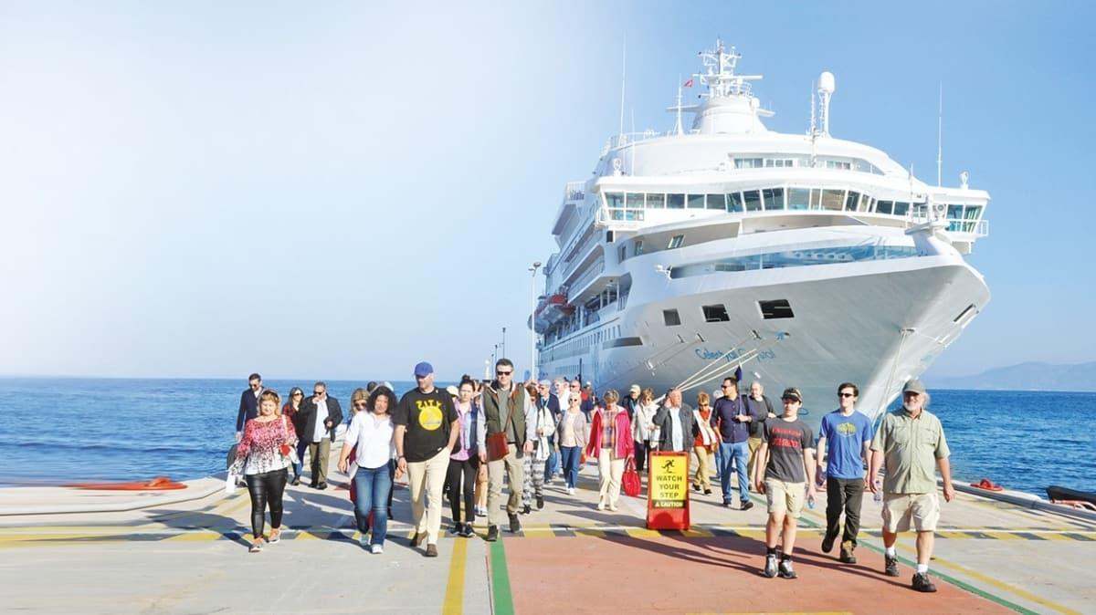 Şubatta turist sayısı yüzde 3.7 arttı