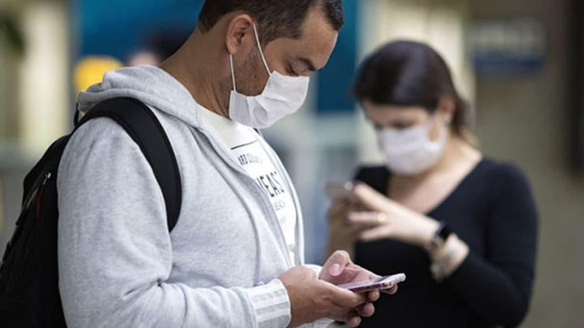 Koronavirüs uyarısı: Cep telefonu kullanırken dikkat!