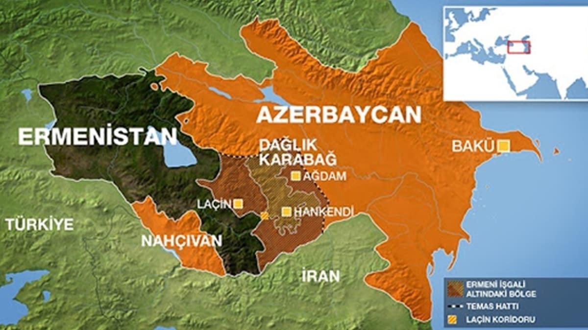 Azerbaycan-Ermenistan temas hattında çatışma: 1 Ermenistan askeri öldü