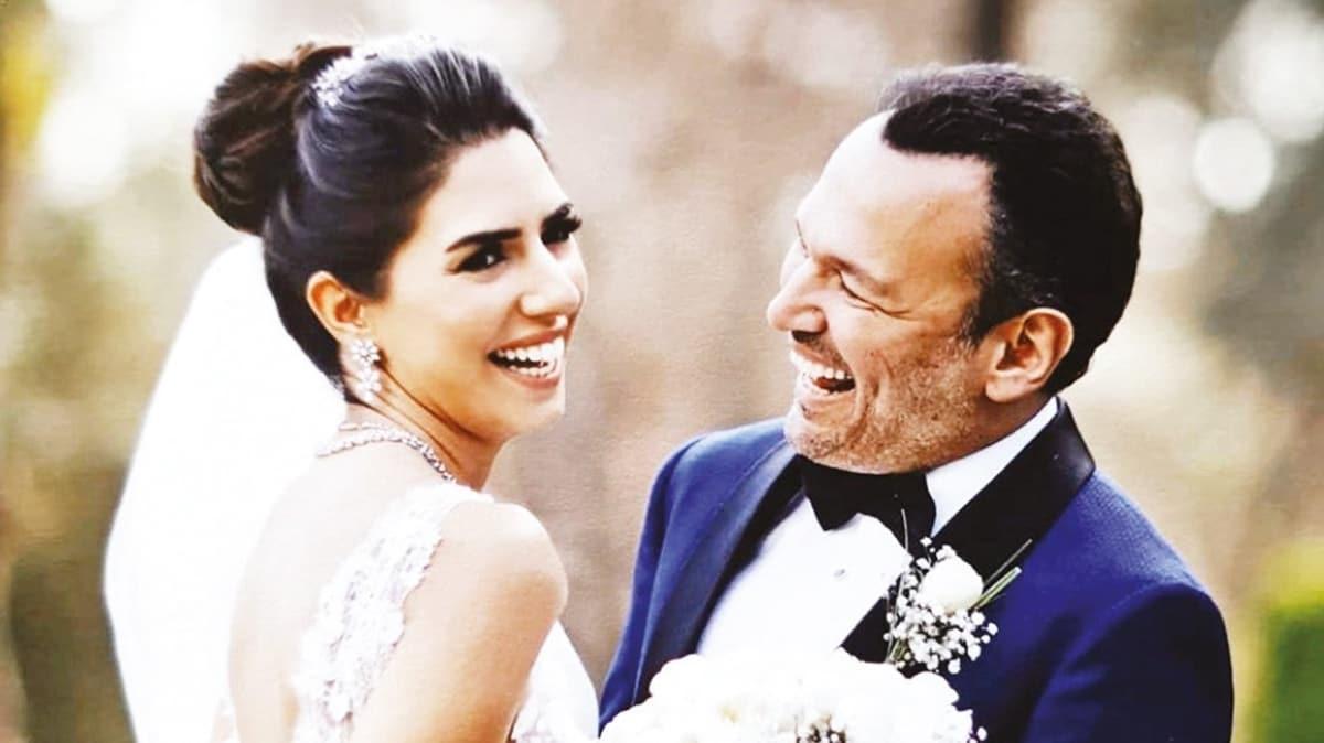 Ali Sunal'dan eşi Nazlı Sunal'a romantik kutlama
