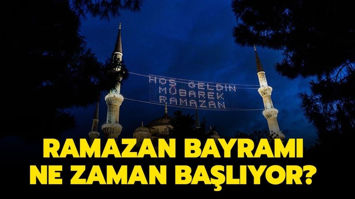 Ramazan Bayramı için geri sayım