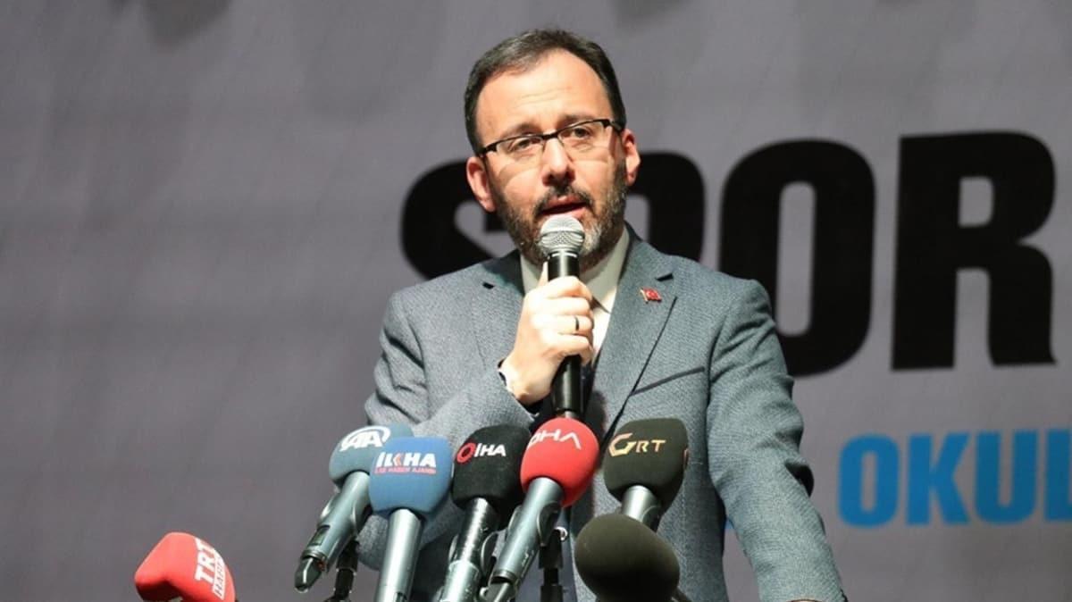 Bakan Kasapoğlu'ndan 'evde kal' çağrısı