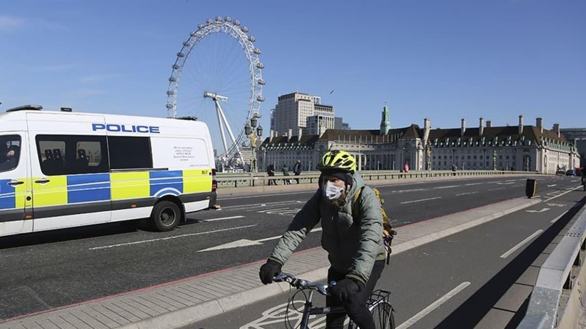İngiltere'de sokağa çıkmaya sınırlama