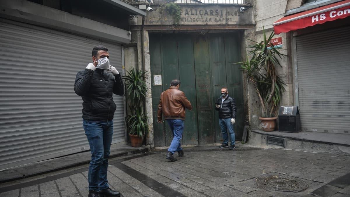 İstanbul'da koronavirüs nedeniyle Tarihi Kapalı Çarşı tamamen kapatıldı!