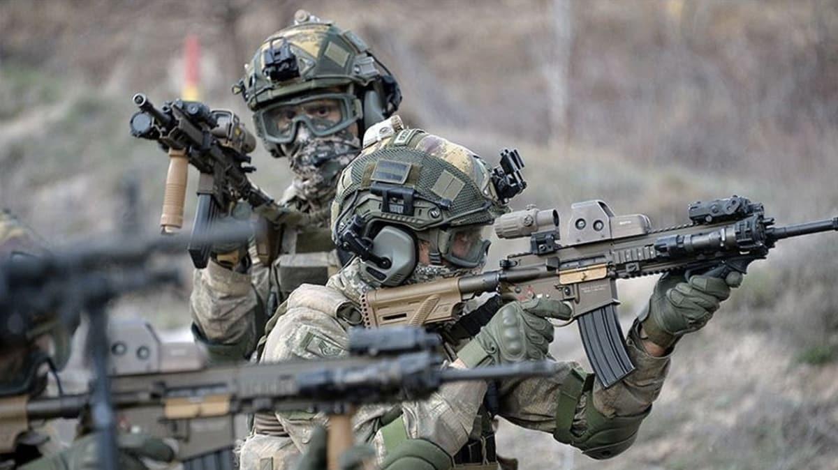 Barış Pınarı bölgesine sızmaya çalışan 6 terörist etkisiz hale getirildi