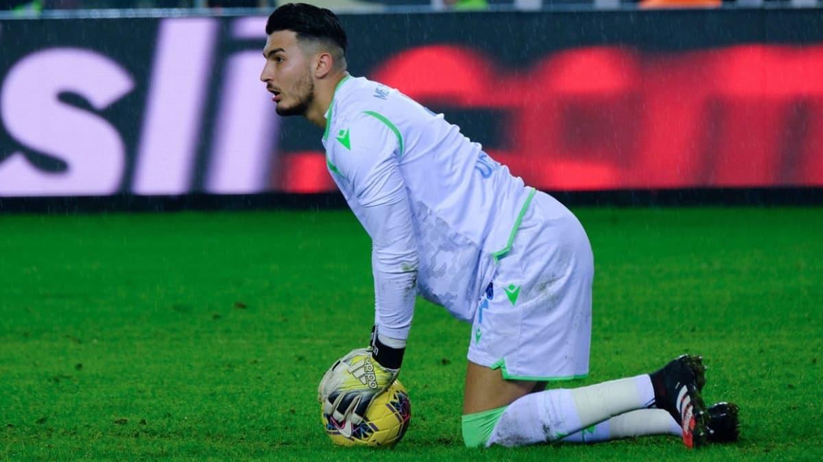 Trabzonspor'da büyük maçların kalecisi Uğurcan Çakır