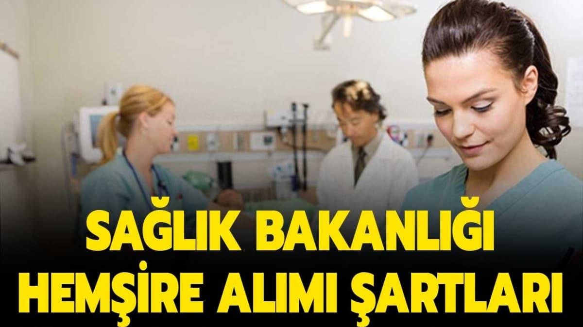 Sağlık Bakanlığı 11 bin hemşire alımı yapacak!