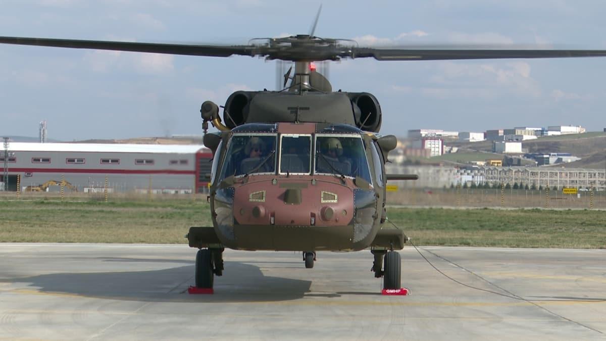 T70 helikopteri ilk uçuşuna hazır