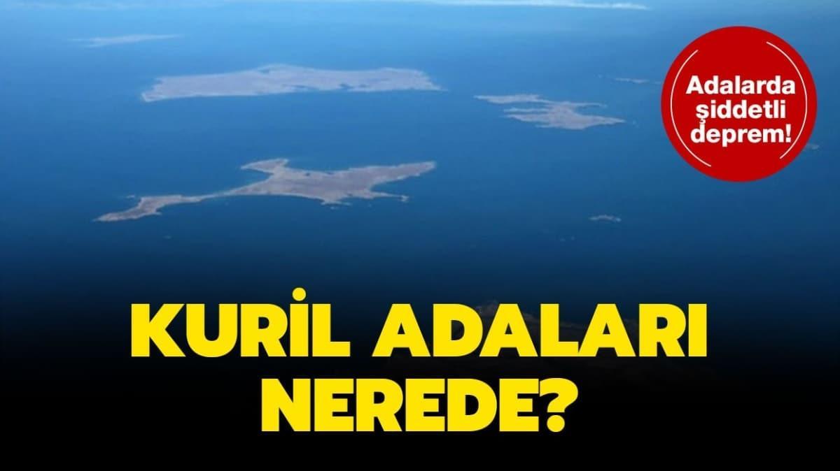 """Kuril Adaları nerede"""""""