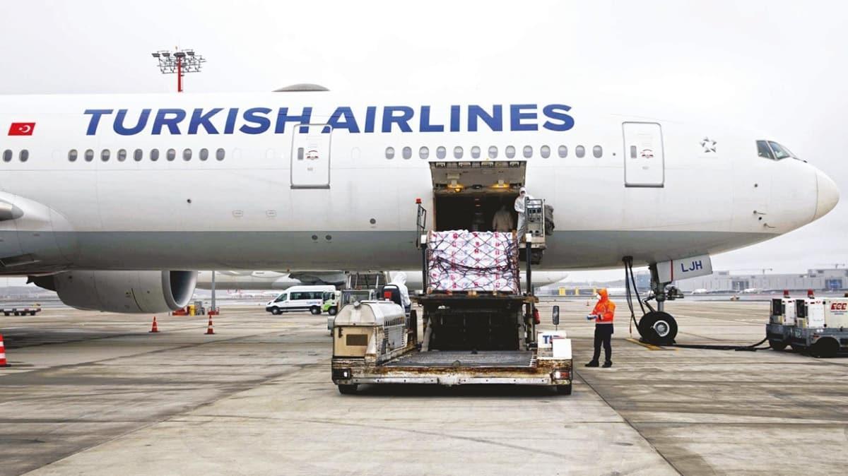 THY uçakları kargo taşımaya başladı