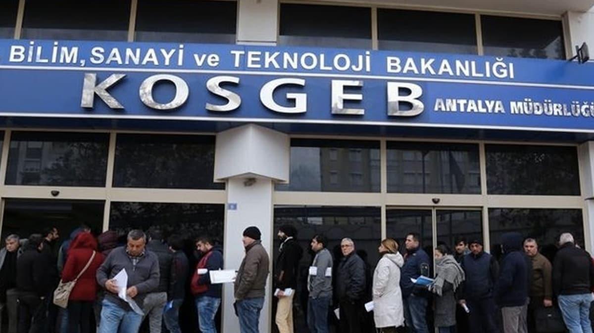 KOSGEB yerli üretim olan bazı hijyen ürünlerine 6 milyon liraya kadar destek verecek