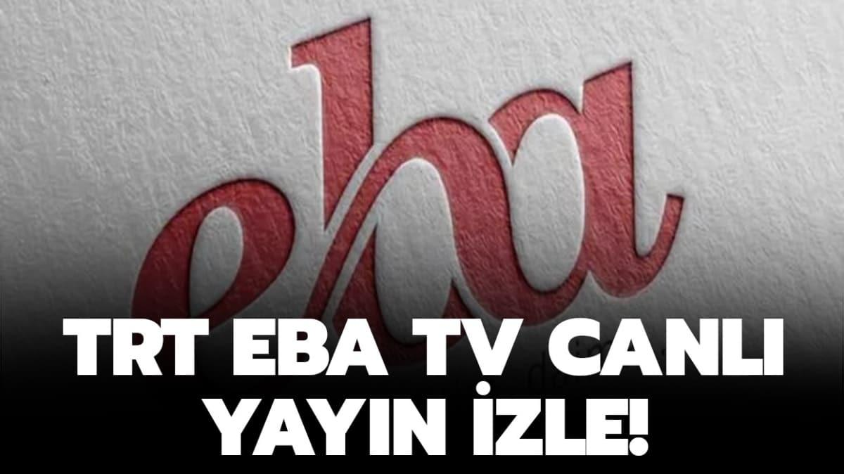 """EBA TV canlı yayın nasıl izlenir"""""""
