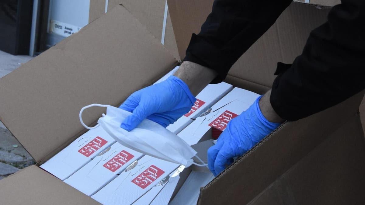 14 bin sertifikasız maske ele geçirildi