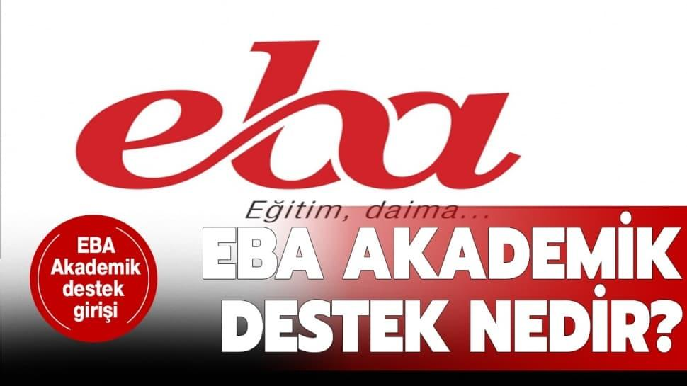 """EBA akademik destek nedir"""""""