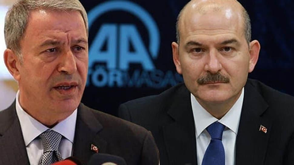 Hulusi Akar ve Süleyman Soylu'ya suikast planı davasının ilk duruşması görüldü