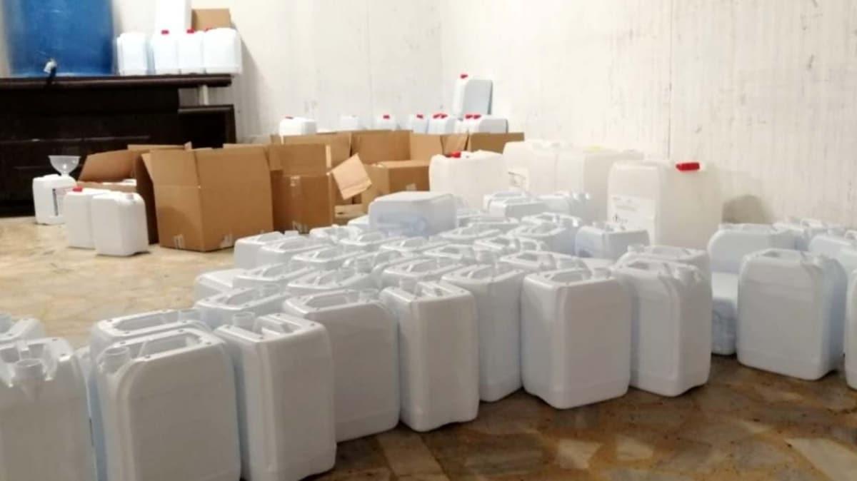 Koronavirüs sahtekarları! İstanbul'da ele geçirildi: 30 tonun üzerinde...