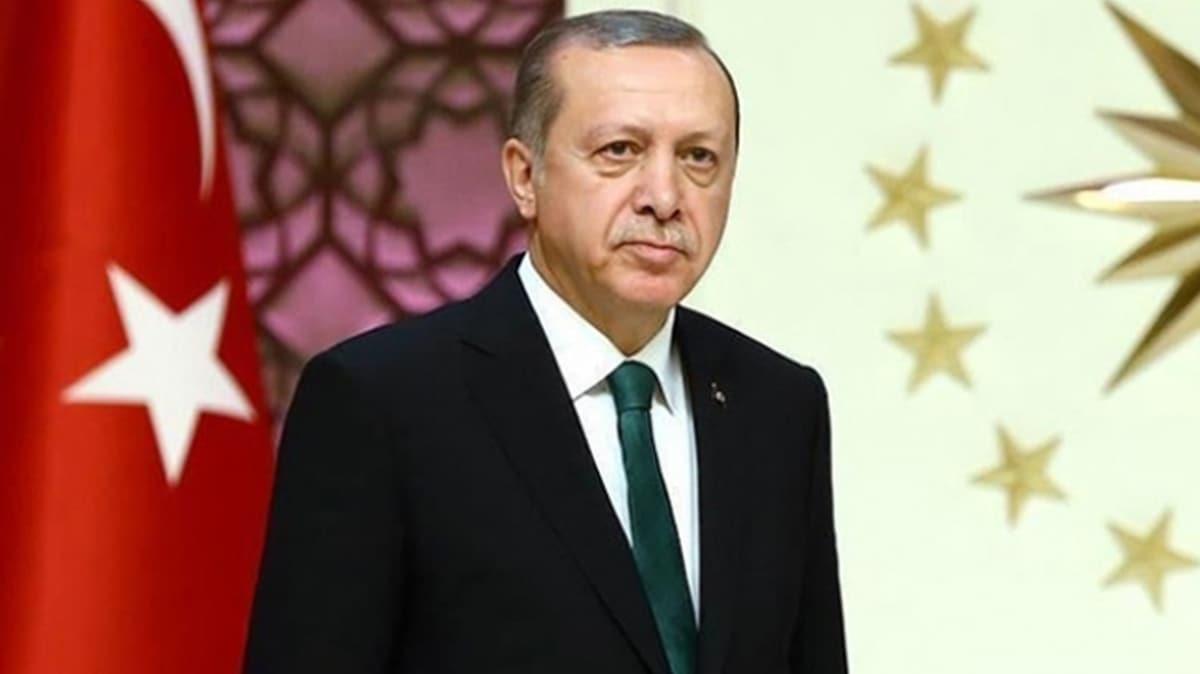 Başkan Erdoğan'dan şehit ailelerine taziye mesajı