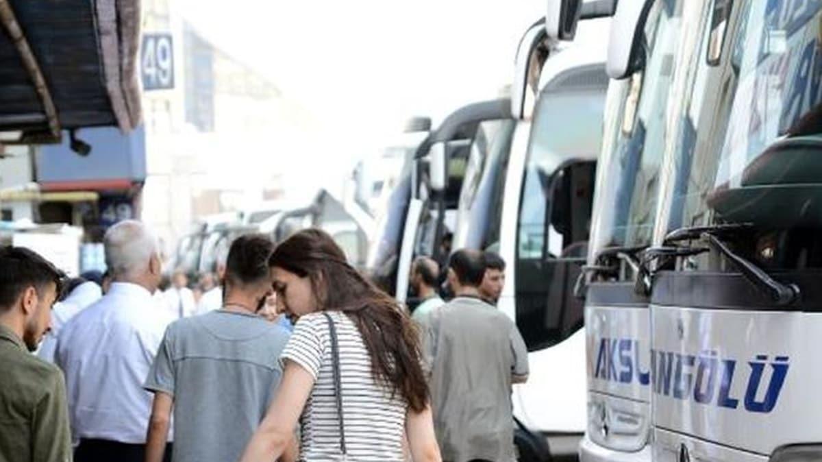 İstanbul'da yolcu otobüslerine corona virüs denetimi