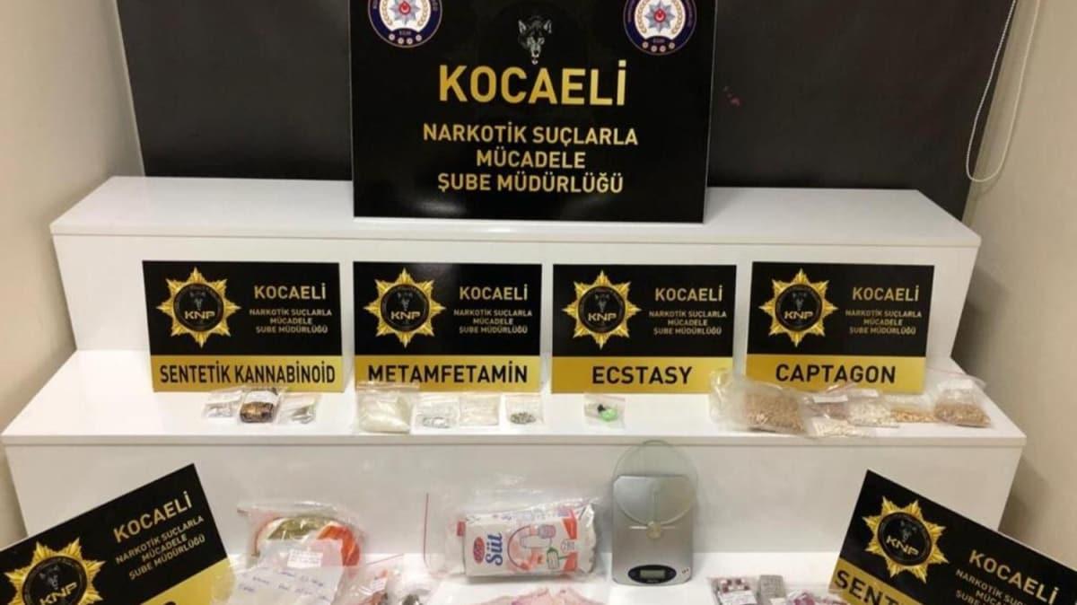 Süt kutusundan binlerce uyuşturucu hap çıktı: 9 gözaltı