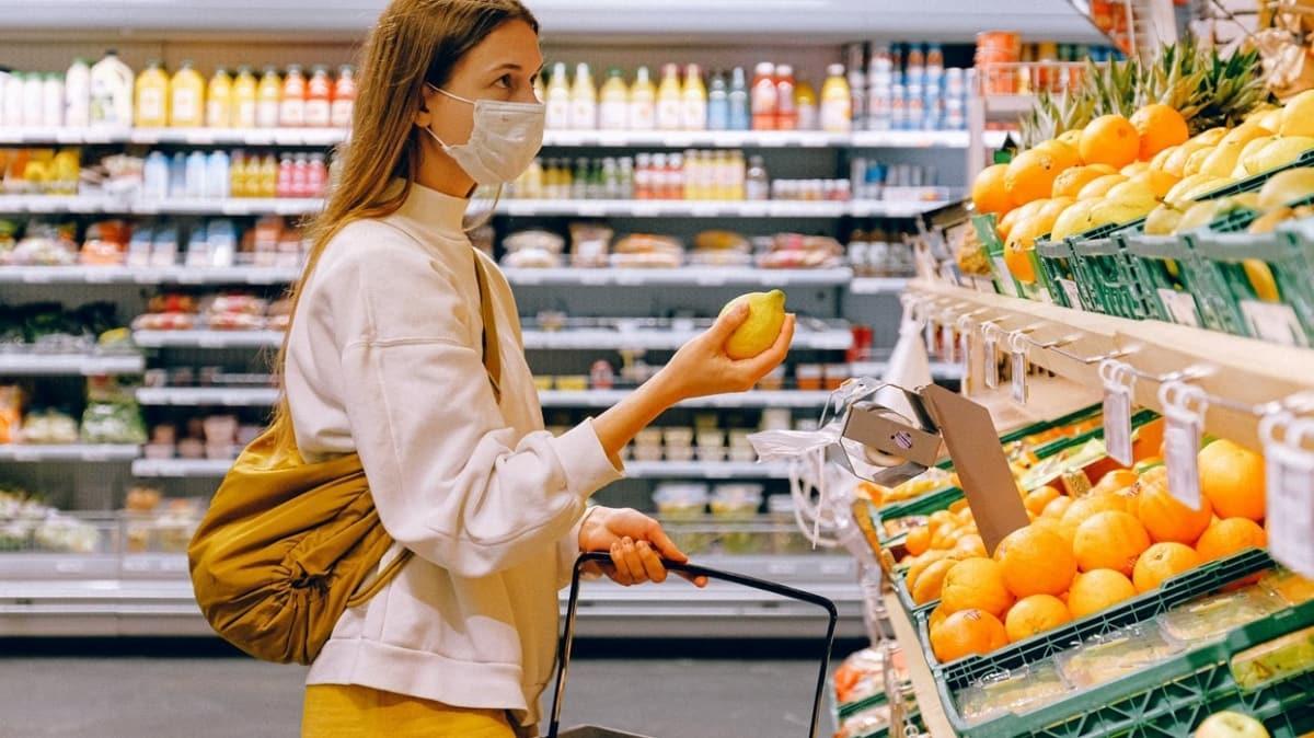 Market alışverişinde koronavirüsten korunmanın 10 yolu