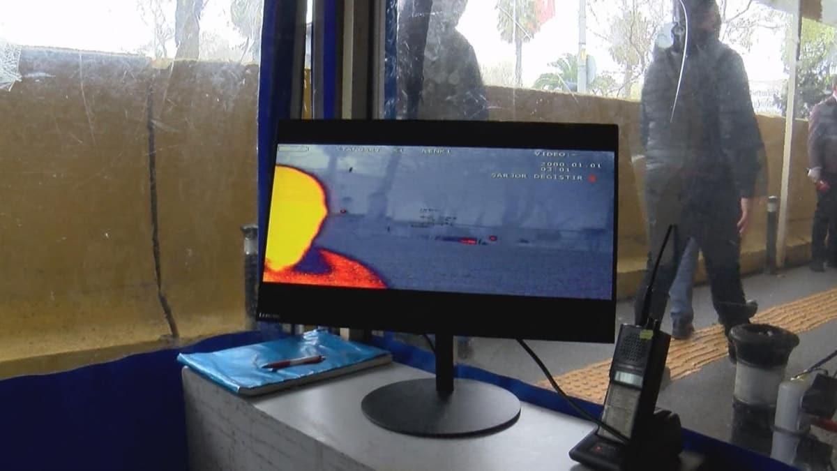 39 polis merkezi girişine termal kamera kuruldu