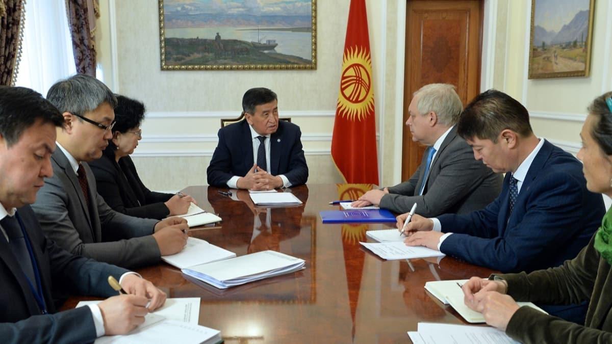 Kırgızistan, Kovid-19 salgını nedeniyle uluslararası kuruluşlardan mali yardım istedi