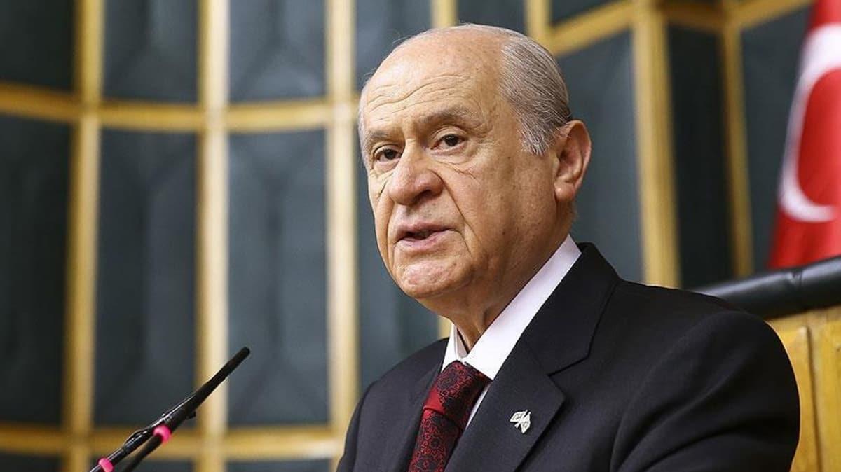 MHP Genel Başkanı Bahçeli'den koronavirüs açıklaması