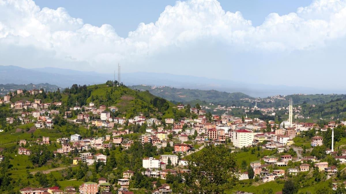 Rize'de Kendirli beldesi ile 4 köy koronavirüs tedbirleri kapsamında karantinaya alındı
