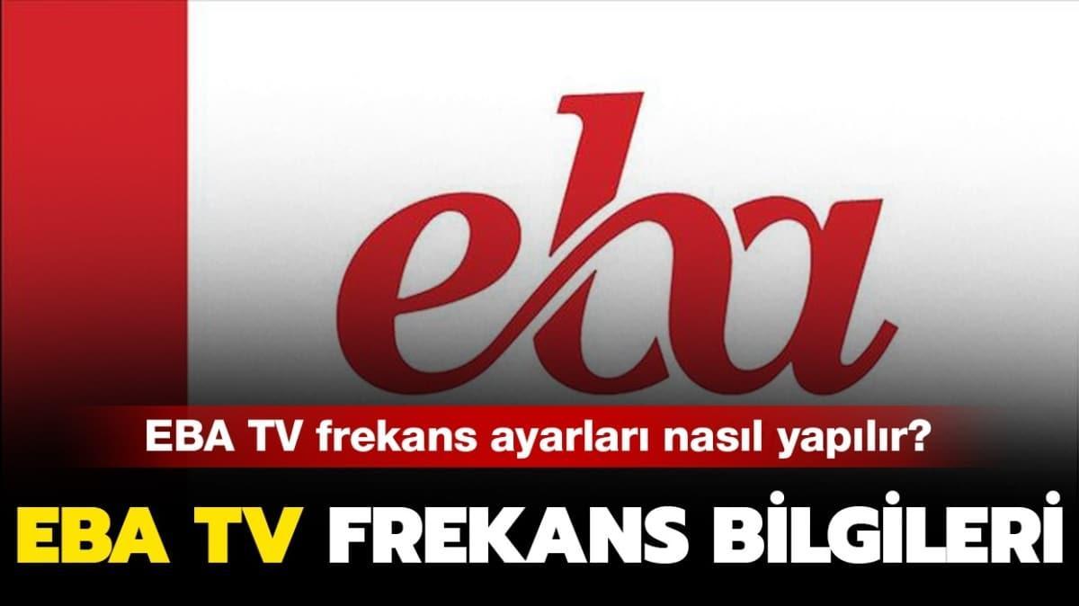 """EBA TV frekans ayarlama nasıl yapılır"""""""