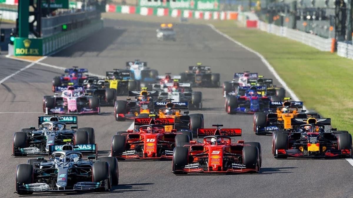 Formula 1 takımlarından solunum cihazı desteği
