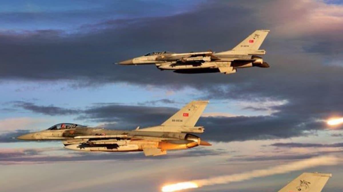 Terör örgütüne hava operasyonu! 8 terörist öldürüldü