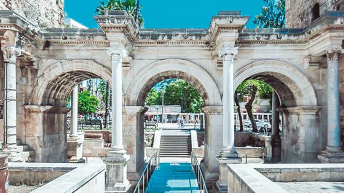 Türkiye'nin tropik bahçesi Antalya