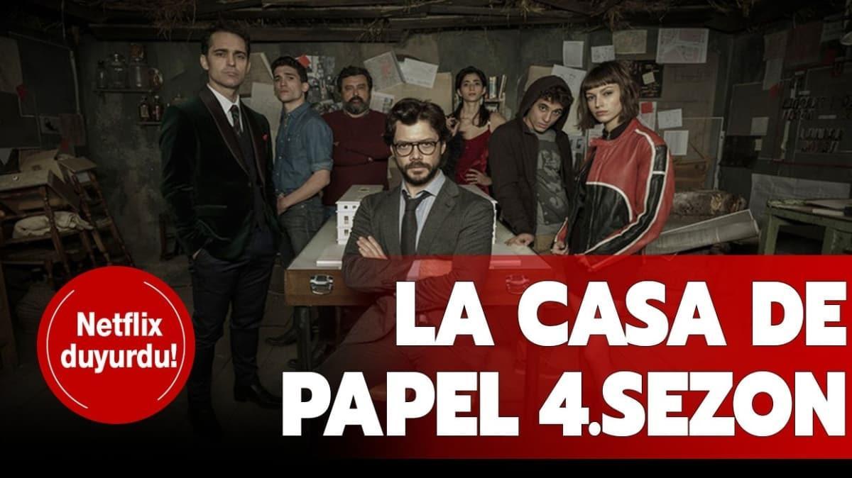 Netflix La Casa de Papel 4.sezon fragmanını yayında