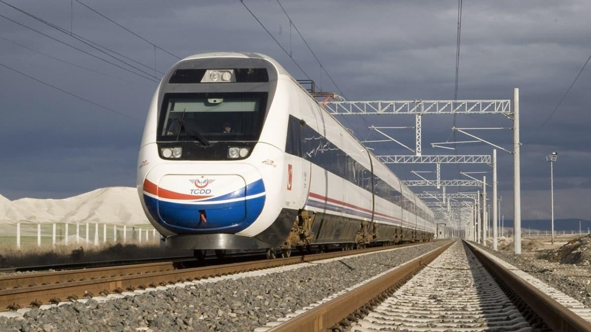 Başkentray ve Marmaray dışındaki Yüksek Hızlı, Anahat ve Bölgesel Trenler'in geçici olarak durduruldu