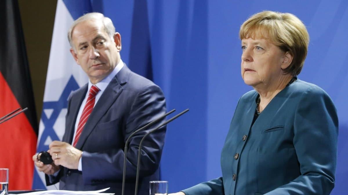İsrail basını yazdı: Merkel'den Netanyahu'ya ret